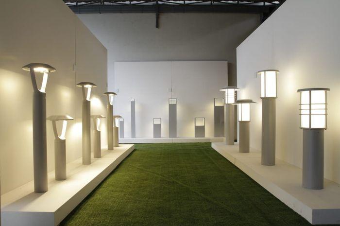 Jenis lampu Ligman untuk penggunaan outdoor.
