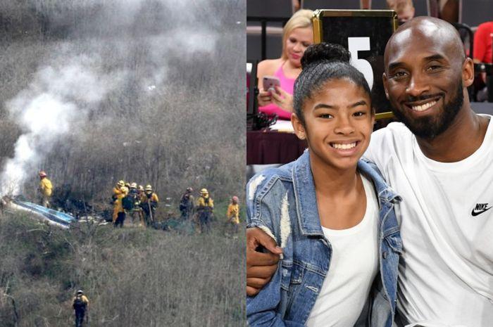 Alami Kecelakaan Helikopter, Legenda Basket Dunia, Kobe Bryant Meninggal Dunia Bersama Sang Putri yang Berusia 13 Tahun