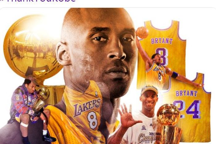 Pebasket legendaris Los Angeles Lakers, Kobe Bryant.