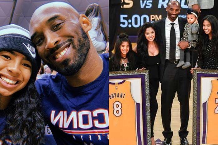 Tak Hanya Menjadi Legenda, Kobe Bryant Juga Menjadi Seorang Family Man yang Merawat Empat Orang Putrinya