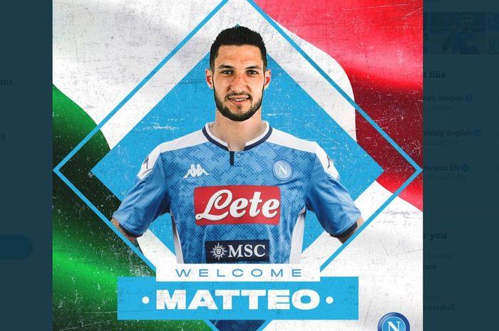 Matteo Politano resmi bergabung ke Napoli dari Inter Milan, Selasa (28/1/2020).