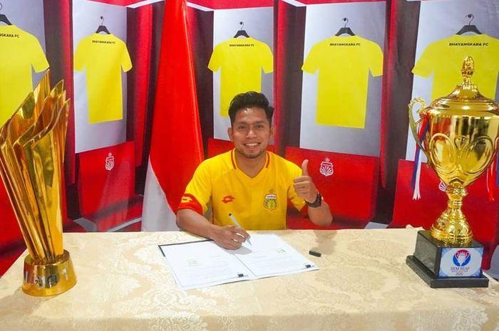 Andik Vermansah gabung Bhayangkara FC.