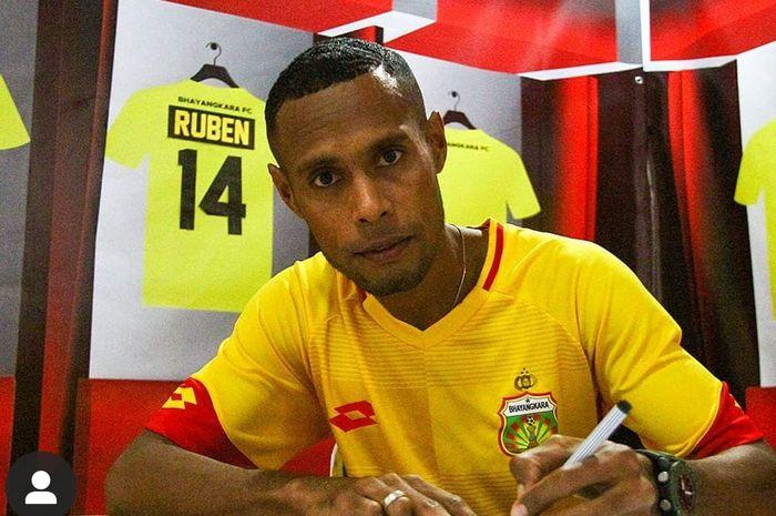 Ruben Sanadi resmi gabung ke Bhayangkara FC.