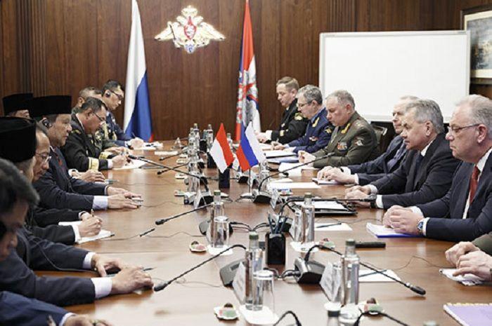 Prabowo dan Indonesia saat berkunjung ke Rusia