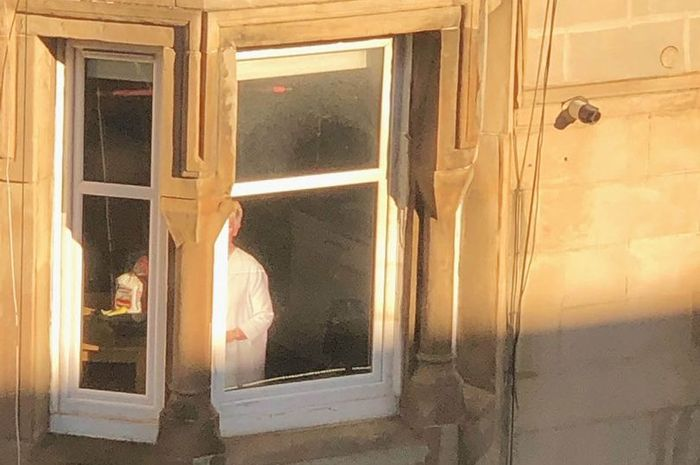 Viral foto gedung apartemen
