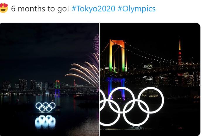 Olimpiade 2020 akan digelar di Tokyo, Jepang.