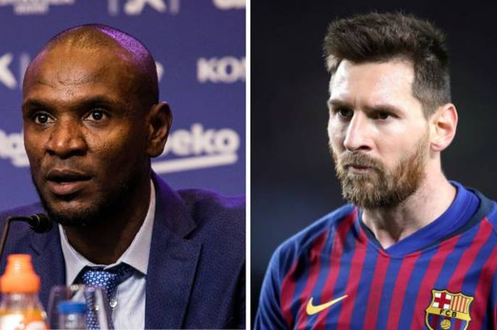 Abidal and Messi