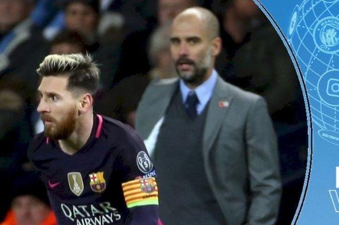 Pep Guardiola mengaku lebih memilih Lionel Messi bertahan di Barcelona daripada harus hijrah ke Manchester City akhir musim nanti.