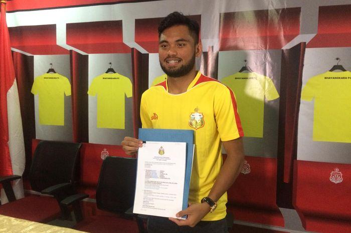Saddil Ramdani resmi berseragam Bhayangkara FC