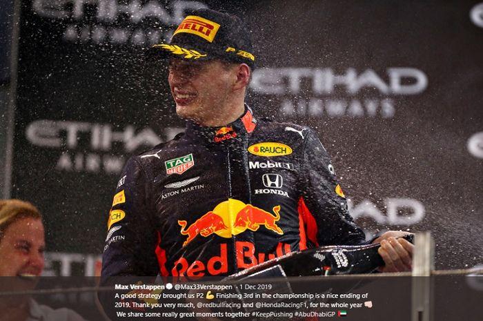 Pembalap Red Bull Racing, Max Verstappen, menjadi pembalap favorit pada balapan pembuka Formula 1 GP Austria di Red Bull Ring, Austria, pada 3-5 Juli 2020.