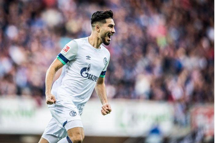 Suat Serdar, gelandang Schalke 04.