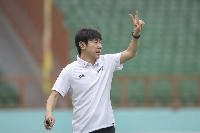 Pelatih timnas Indonesia, Shin Tae-yong, memanggil 34 nama untuk mengikuti seleksi dan TC di Stadion Madya, Jakarta.