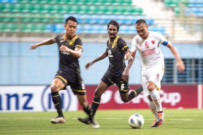 PSM Makassar Vs Tampines Rovers pada babak Grup G Piala AFC 2020 di Stadion Jalan Besar, Singapura, Rabu (12/2/2020).