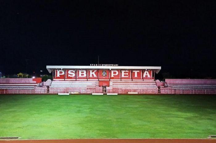 Stadion Soeprijadi di Kora Blitar siap menggelar laga semifinal Piala Gubernur Jatim 2020.