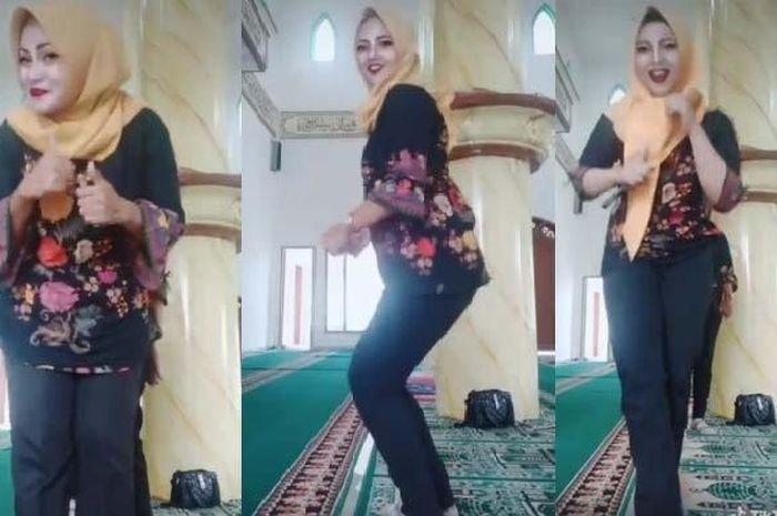 Viral video tiga emak-emak berjoget TikTok di sebuah rumah ibadah, usai viral, ketiganya minta maaf dan mengaku khilaf.