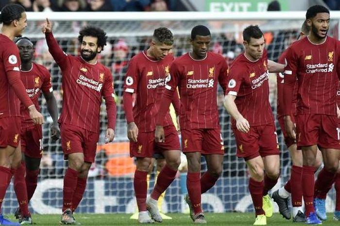 Liverpool saat melawan Wolves