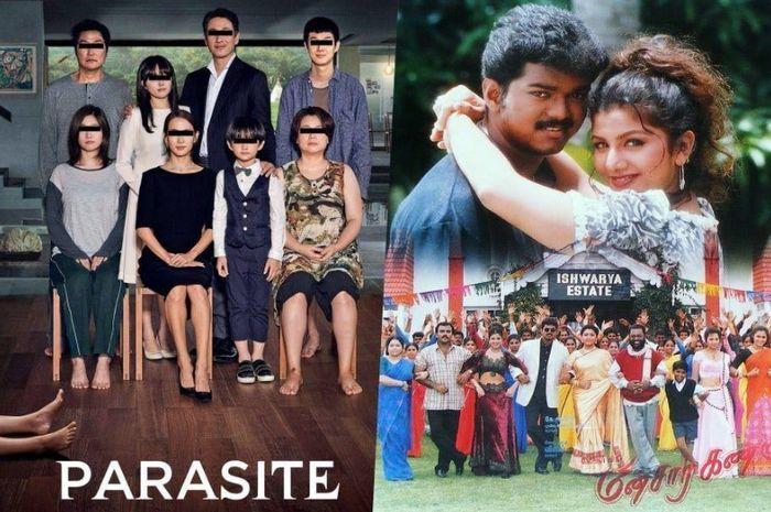 Image result for parasite dituduh plagiat film india