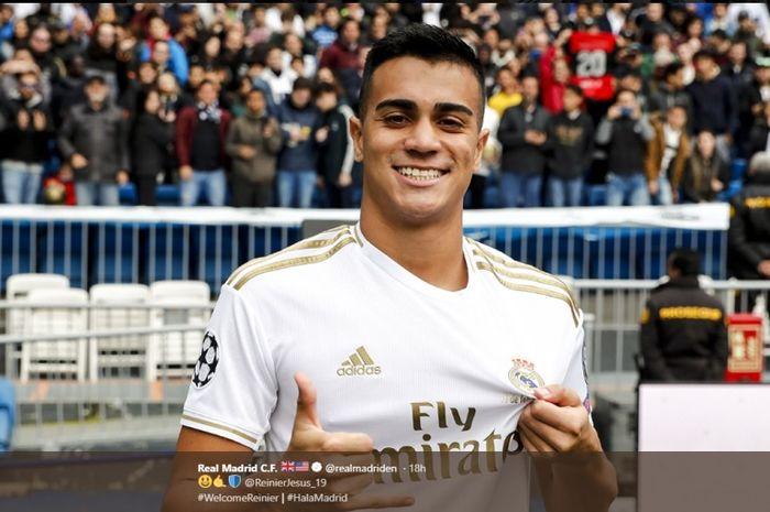 Pemain baru Real Madrid, Reinier Jesus.