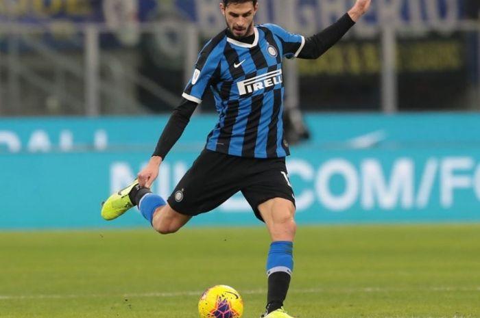 Pemain bertahan Inter Milan, Andrea Ranocchia