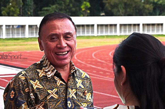 Ketum PSSI, Mochamad Iriawan.