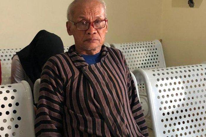 Suraji, ayah Yasinta salah satu korban susur sungai SMPN 1 Turi.