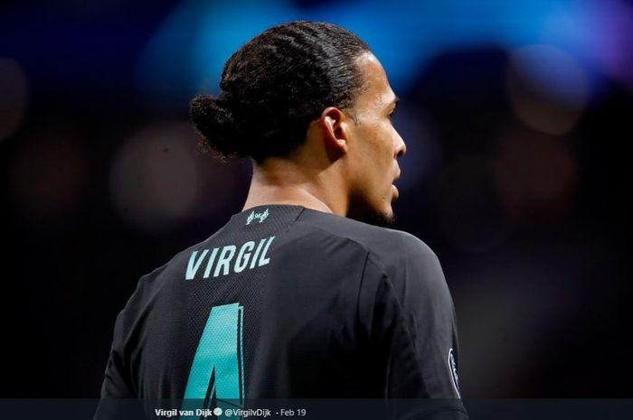 Pemain bertahan Liverpool, Virgil van Dijk.