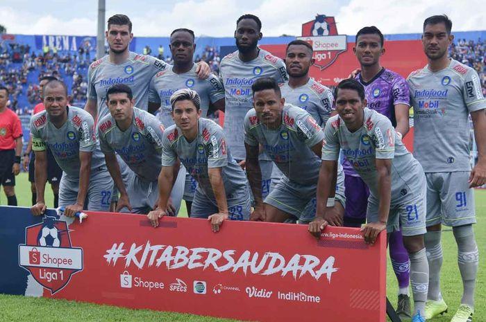 Skuad Persib Bandung Kontra Arema FC, Sabtu (8/3/2020)
