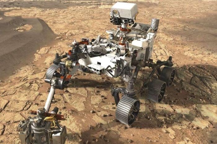 Ilustrasi Rover baru milik NASA.