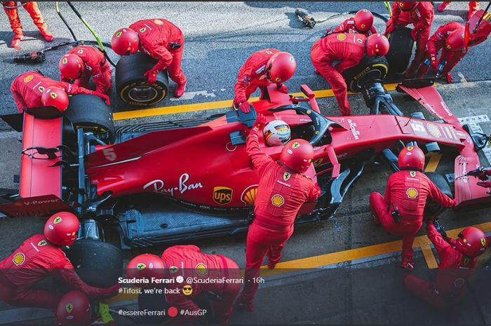 Harapan Ferrari Terhadap GP Asutralia 2020