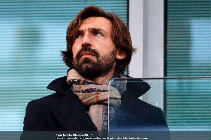 Gelandang legendaris AC Milan dan Juventus, Andrea Pirlo.