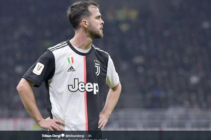 Gelandang tengah Juventus, Miralem Pjanic.