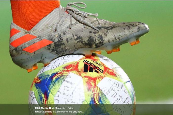 FIFA telah secara resmi menghentikan seluruh pertandingan internasional dalam kurun waktu Maret-April sejak Jumat (13/3/2020) waktu setempat.