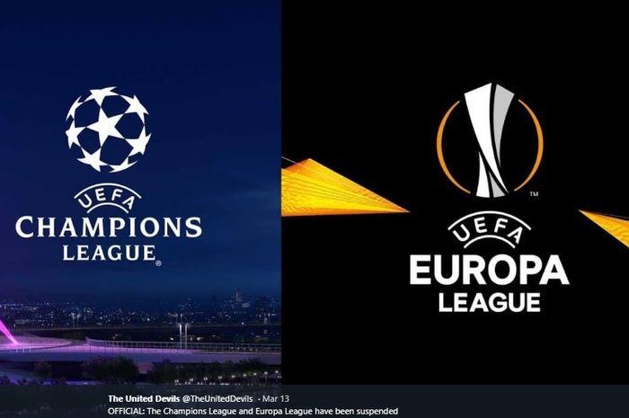 Ilustrasi Liga Champions dan Liga Europa.