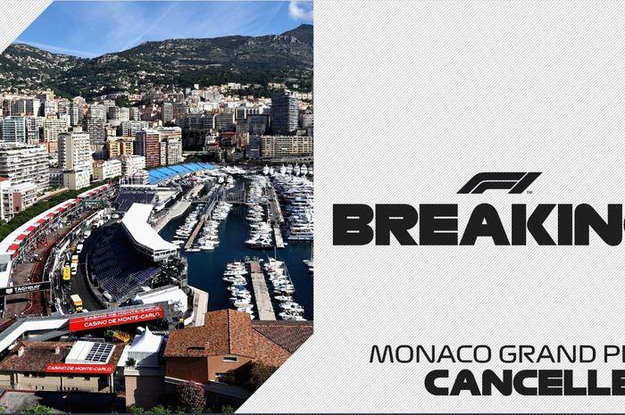GP Monaco 2020 batal dilangsungkan karena COVID-19.