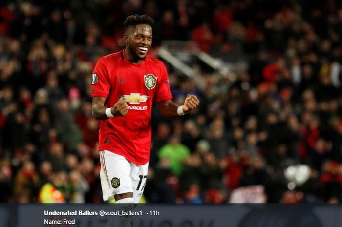 Gelandang tengah Manchester United, Fred.