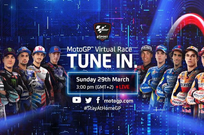 Poster MotoGP Virtual Race 2020