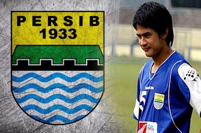 Suchao Nuchnum saat membela Persib Bandung pada musim 2009/2010.