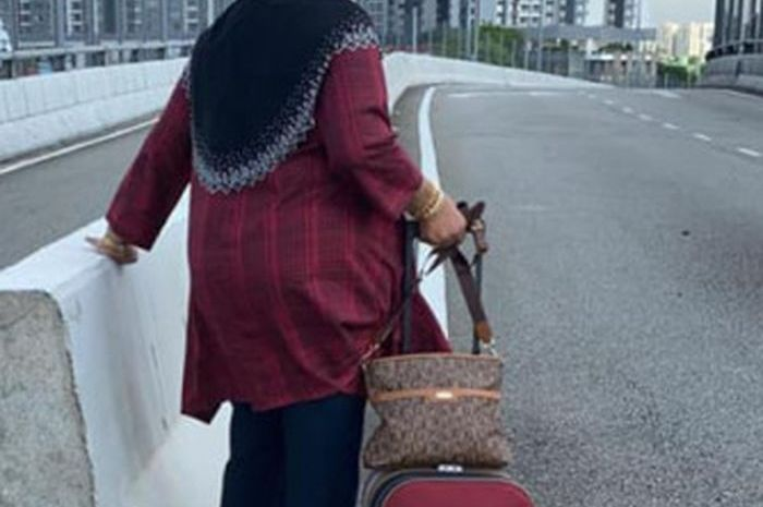 Nenek yang viral jalan kaki demi ketemu suaminya yang positif corona