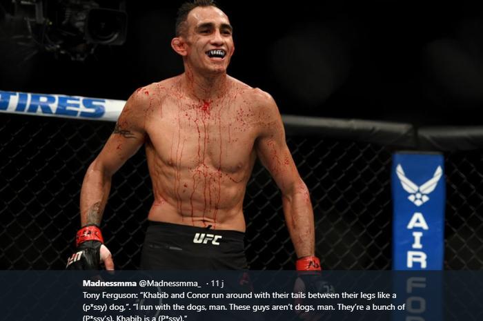 Petarung UFC, Tony Ferguson, yakin sosok pembunuh bayaran dalam dirinya bisa menuntunnya untuk mengalahkan Justin Gaethje dan bertemu Khabib Nurmagomedov.