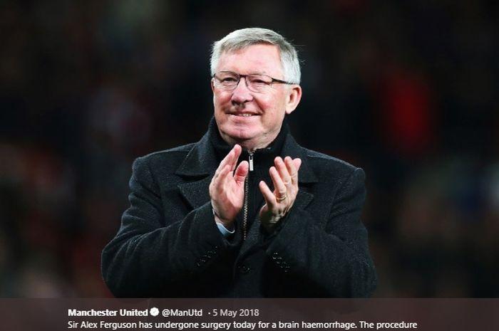 Eks pelatih Manchester United, Sir Alex Ferguson.