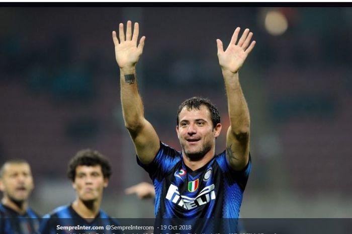 Dejan Stankovic saat memperkuat Inter Milan.
