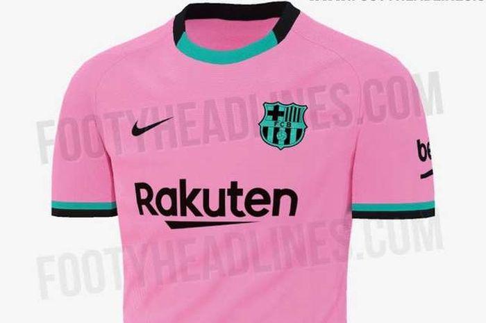 Desain Jersey Barcelona Untuk Musim 2020 21 Bocor Ke Publik Bolasport Com