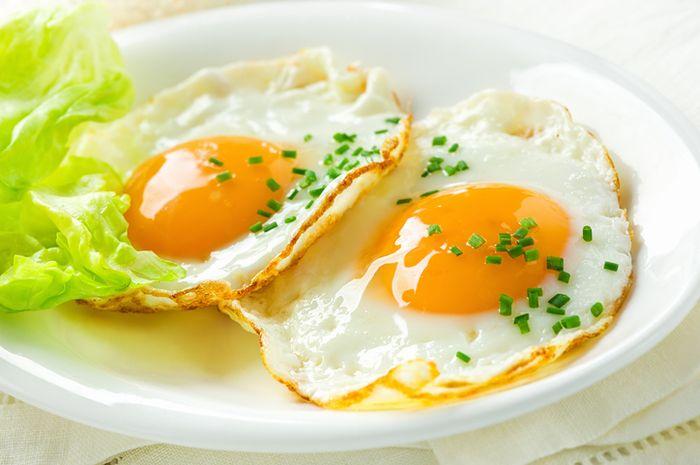 (Ilustrasi) telur matang