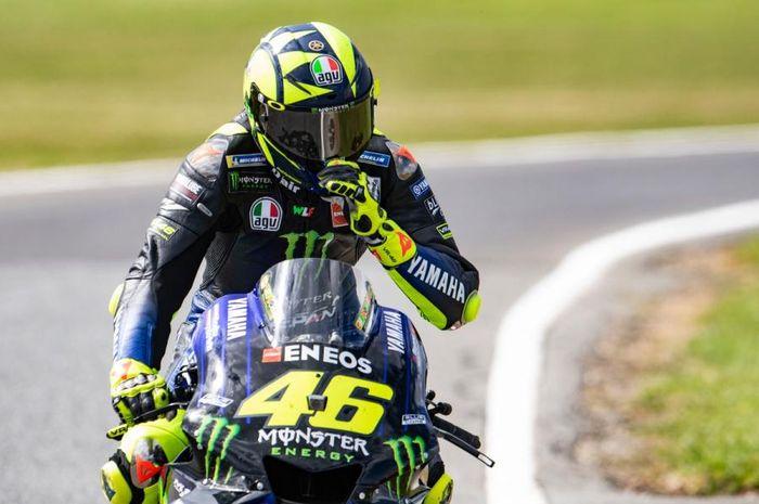Valentino Rossi blak-blakan tentang masa depan karirnya di MotoGP.