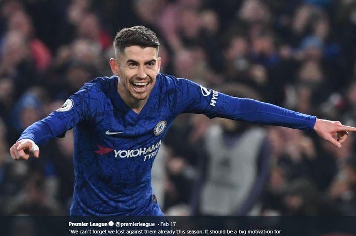 Gelandang bertahan milik Chelsea, Jorginho dikabarkan menjadi buruan utama Juventus pada bursa transfer musim panas nanti.