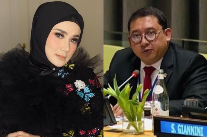 Mulan Jameela dan Fadli Zon