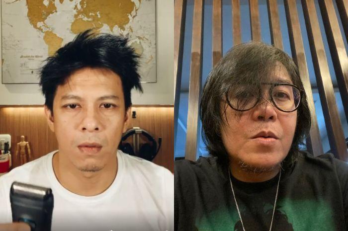 Ditantang Ariel Noah untuk Potong Rambut Sendiri, Ari Lasso Bingung dan Malah Tanya Jawaban ke Netizen: Layak Diladenin Nggak sih?