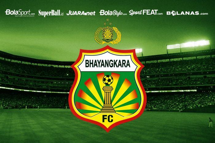 Logo Bhayangkara FC.