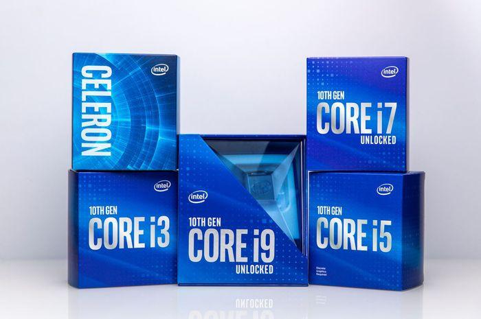 Intel Resmi Luncurkan Core Generasi ke-10 Comet Lake S di Dunia