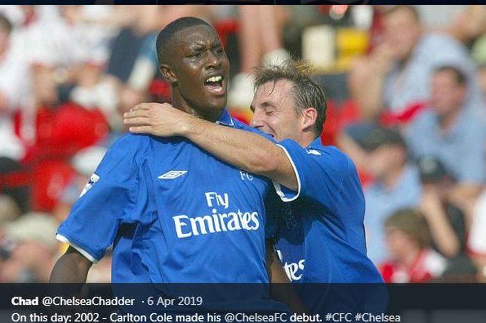 Carlton Cole saat memperkuat Chelsea.